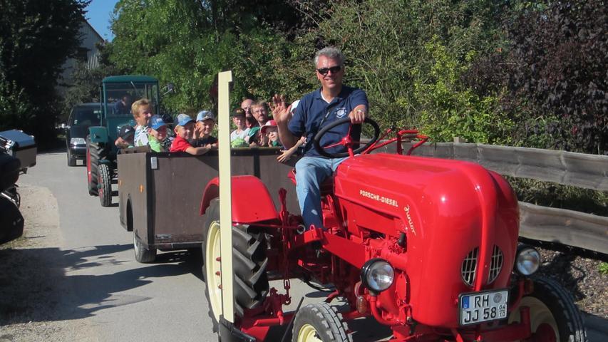 Zu Besuch beim Ackerfest der Schlepperfreunde Oberreichenbach