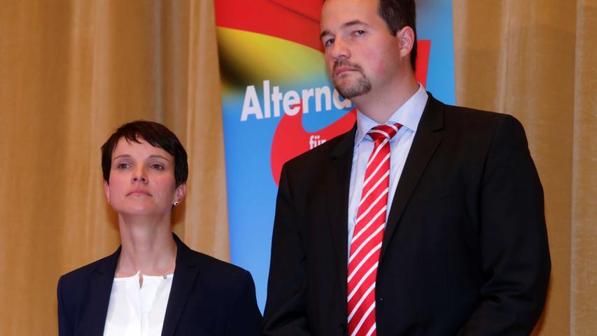 Motiv: AfD-Veranstaltung mit Frauke Petry und Martin Sichert ....---- ----......Foto: Roland Fengler....Datum: 01.10.2016....Ressort: Lokales....