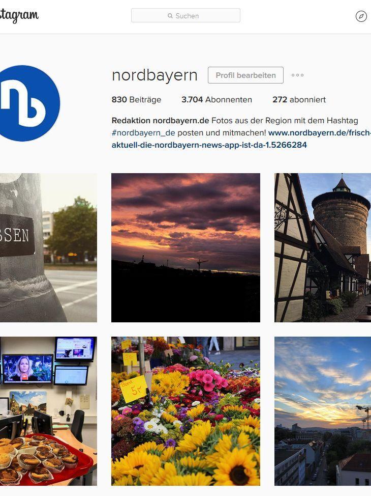 #NoFilter: Instagram ging vor sechs Jahren an den Start - eine Plattform zum Posten und Kommentieren von Fotos. Das gab es zuvor zwar bereits bei Flickr, doch Instagram lieferte gleich die passenden Bearbeitungsmöglichkeiten dazu, um selbst das verwackelste Handyfoto noch wie Kunst aussehen zu lassen. Durch verschiedene Filter lassen sich sofort bestimmte Effekte erzielen. Mittlerweile hat sich hier eine große Community gebildet. Instagram hat 1 Milliarde monatlich aktive Nutzer und 500 Millionen täglich aktive Nutzer (2020).  nordbayern.de finden Sie auf Instagram unter dem Namen @nordbayern - unter dem Hashtag #nordbayern_de sammeln wir die schönsten Fotos Frankens.