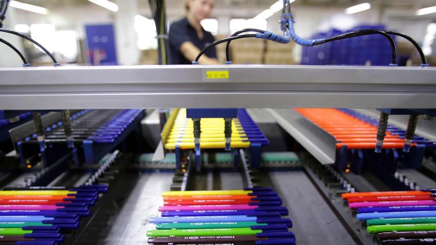 Filz, Blei und Bunt: Die Stifte-Produktion bei Staedtler