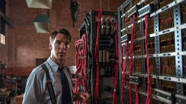 """Benedict Cumberbatch spielt das Mathematik-Genie Alan Turing im Spielfilm """"The Imitation Game"""", der 2015 in die deutschen Kinos kam."""