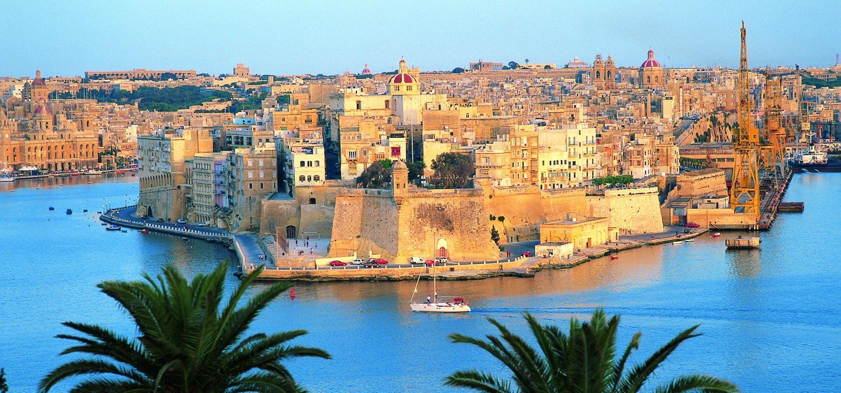 Blick auf Valetta, Hauptstadt von Malta.