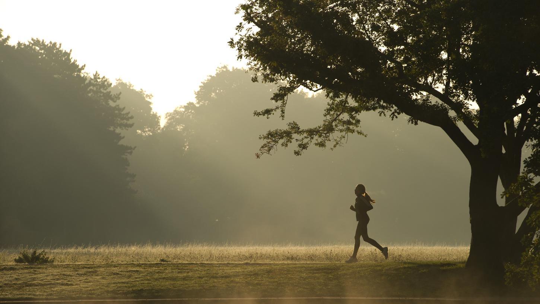 Generell gilt: Vor der Joggingrunde sind leichte Aufwärmübungen wichtig, um die Muskulatur auf die Sporteinheit vorzubereiten.