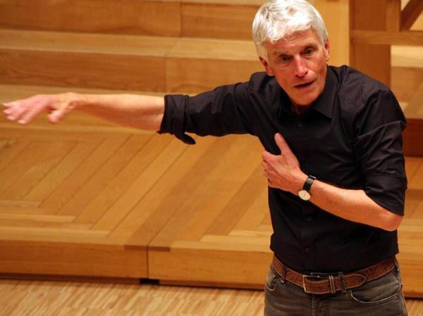 """""""Es gibt keinen besseren Chordirigenten als Karl-Friedrich Beringer"""": Der frühere Leiter des Windsbacher Knabenchors genießt noch immer hohes Ansehen."""