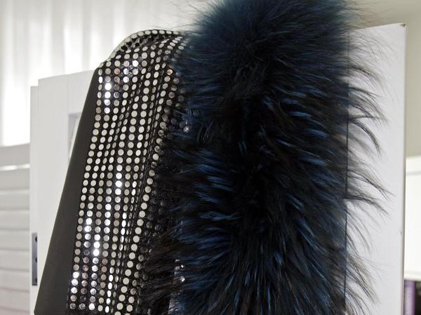 . . . sondern die verschiedenen Stoffe, Muster und Materialien, die bestimmte Stil-Typen verkörpern.