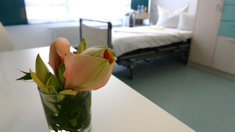 In den Zimmern der Station sollen die Patienten eine würdevolle Sterbebegleitung erfahren.