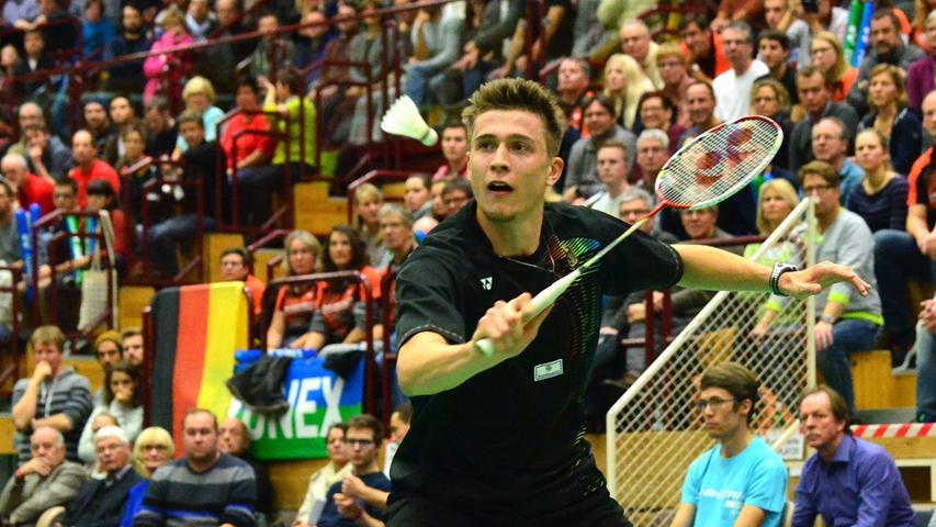 Aufschlag zum Länderspiel - Erlangen im Badminton-Fieber