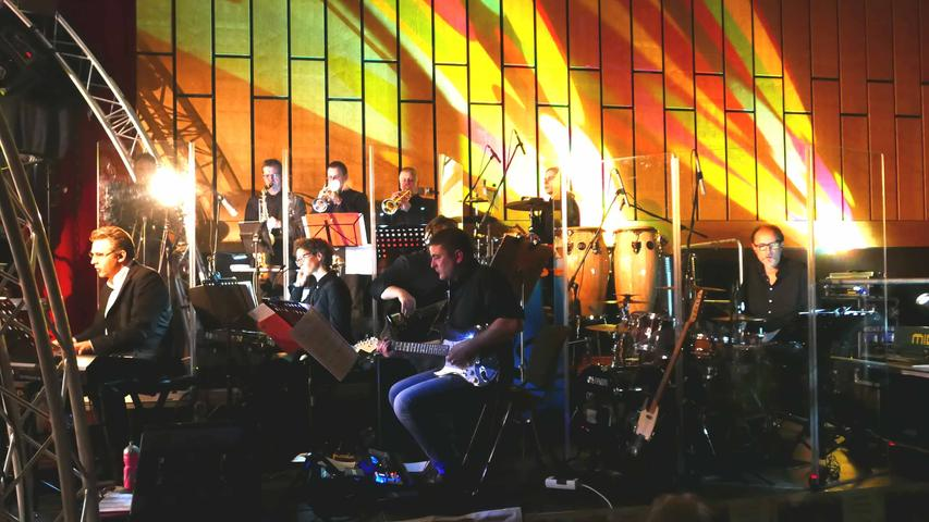 Die Bandmitglieder reisten aus vielen Teilen Deutschlands und aus der Schweiz an.