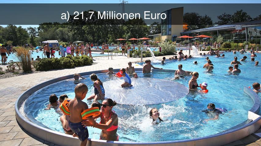 Alleine der Saunabereich im Forchheimer Königsbad wurde noch mal für 178.600 Euro attraktiver gestaltet.