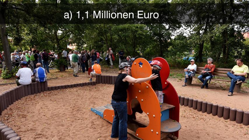 Der Spielplatz am Leiblsteg in Eberhardshof soll noch im November diesen Jahres eröffnet und von den Kindern erobert werden.