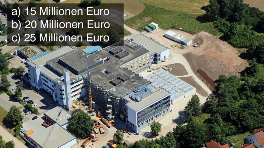 Im Juni 2016 wurde der erste Teil der frisch sanierten Klinik in Betrieb genommen. Insgesamt 60 Millionen Euro wird die Sanierung des Kommunalunternehmens in Gunzenhausen am Ende kosten.