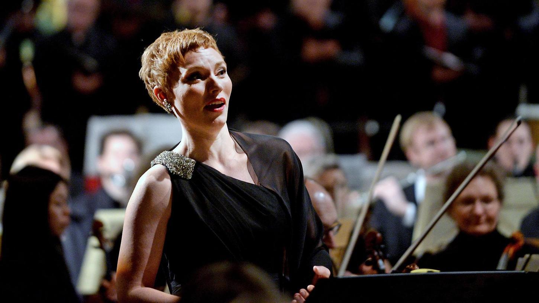 Magisch: Altistin Solgerd Isalv meisterte souverän die Schwierigkeiten in Liedern von Gustav Mahler und Leonard Bernstein.