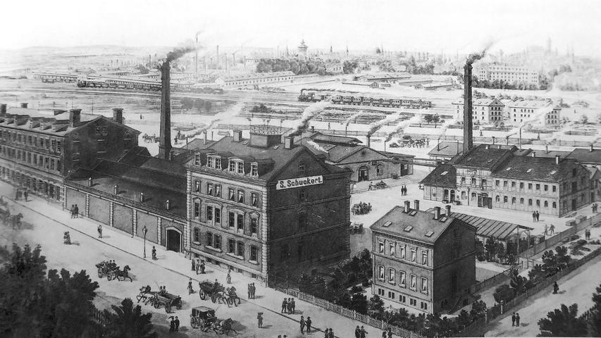 1903 fusionierte Siemens sein Starkstrom-Geschäft mit der Nürnberger Elektrizitäts AG, besser bekannt als