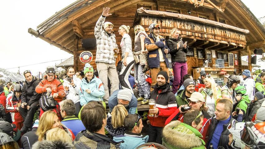 Ort, der zu einem Mittelpunkt der sich ausbreitenden COVID-19-Pandemie werden kann (wie zuvor der österreichische Skiort Ischgl)