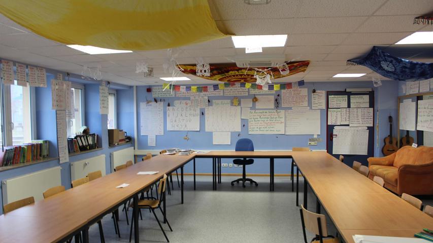 Für rund 25 Berufsschulpflichtige besteht eine Sprachintensivklasse mit dem Schwerpunkt Deutsch und Mathematik.