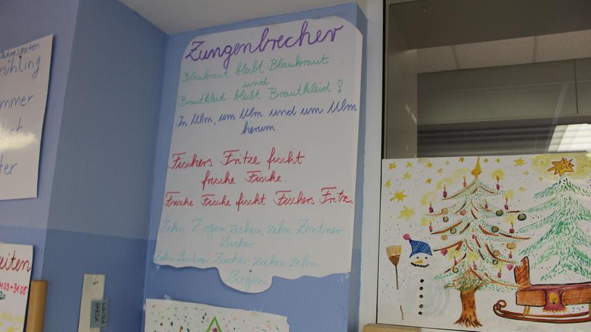 um den Kleinen die deutsche Sprache...