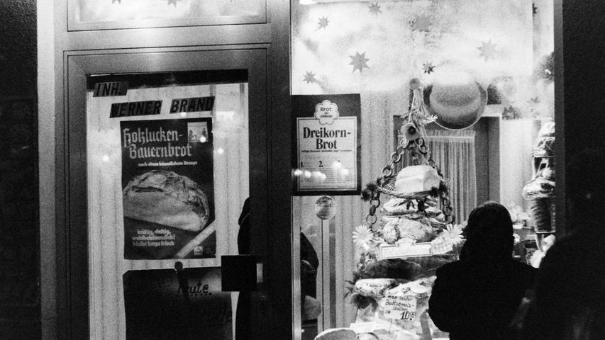 Die Bäckerei Brand neben dem einstigen Gasthaus
