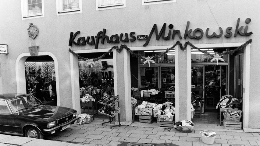 Das Kaufhaus Minkowski in der Rosengasse war im Volksmund nur unter dem Namen