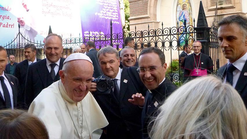 Wettelsheimerin nahm den Papst beim Namen