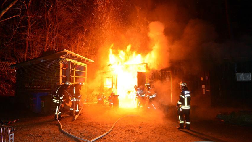 Jugendfarm Erlangen: Fahrrad-Akku löste Feuer aus