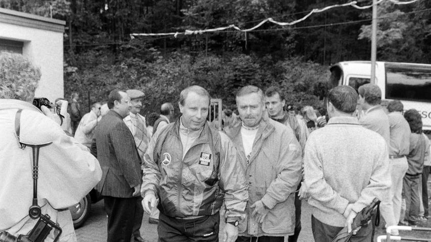 Berti Vogts war damals Bundestrainer. Foto: NN-Archiv