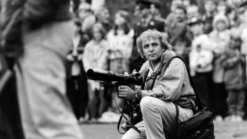 Der unvergessene Pressefotograf Konrad Raum. Foto: NN-Archiv
