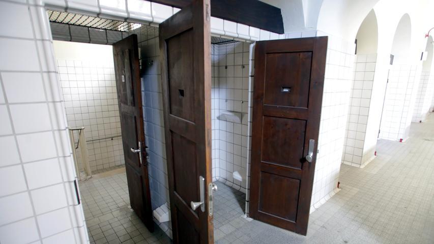Die sanitären Anlagen versprühen ihren ganz eigenen Charme.