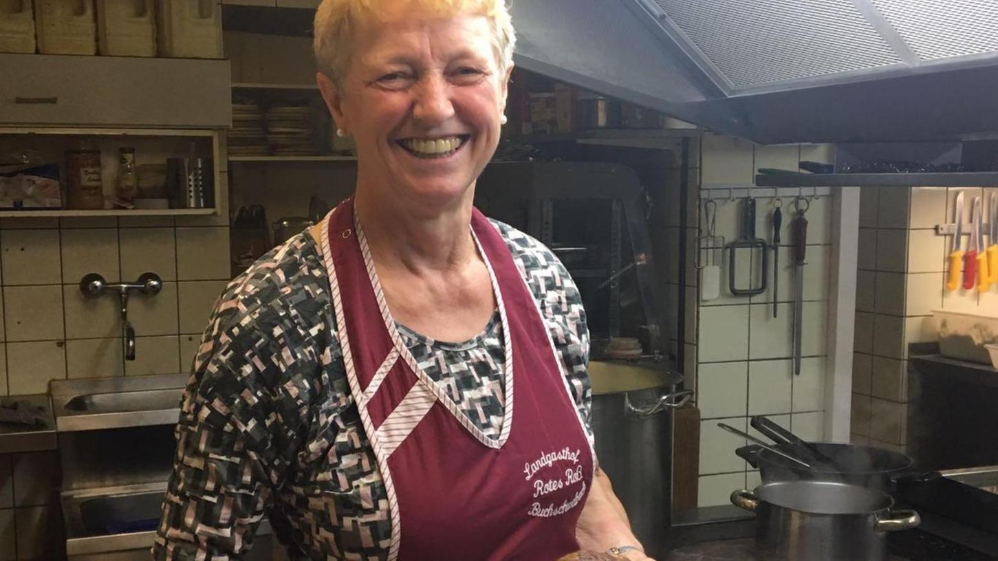Deftig fränkische Essen brachte Elisabeth Keller auf den Teller, nach dem zweiten Weihnachtsfeiertag sperrte sie ihr Traditionsgasthaus in Buchschwabach zu.