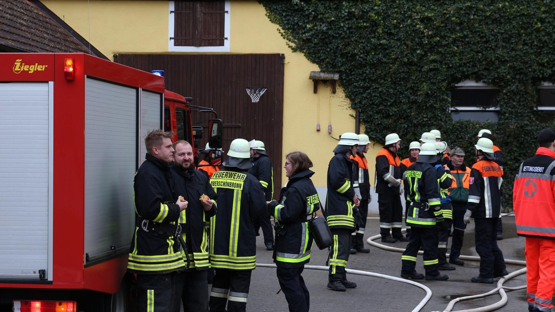 Die Feuerwehr konnte bei dem Brand Schlimmeres verhindern.
