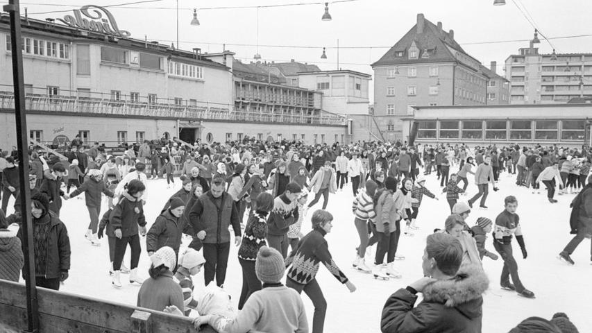 Kalenderblatt: Nürnberg im Dezember 1966