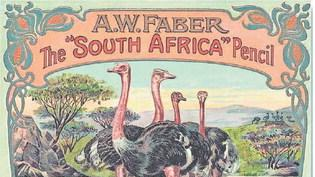 Auch dass das Auge mitkauft, war Faber bewusst, was exotisch anmutende Verpackungen wie diese zeigen.