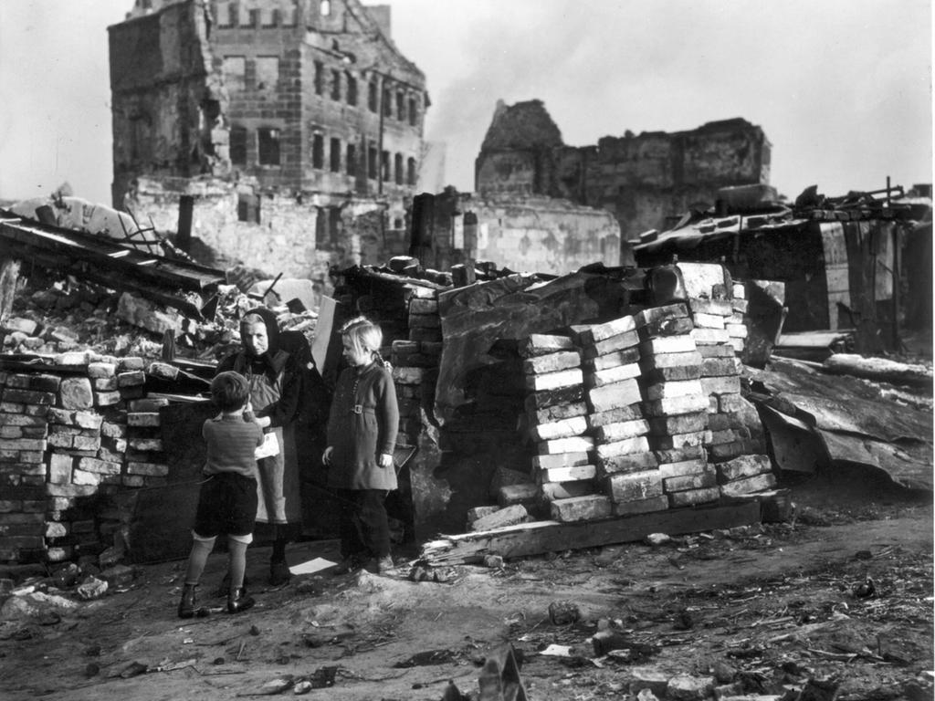 Das zerstörte Nürnberg