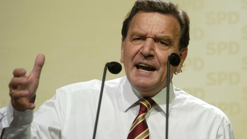 Als Gerhard Schröder (SPD) 1998 zum ersten Mal gewählt wurde, posierte der