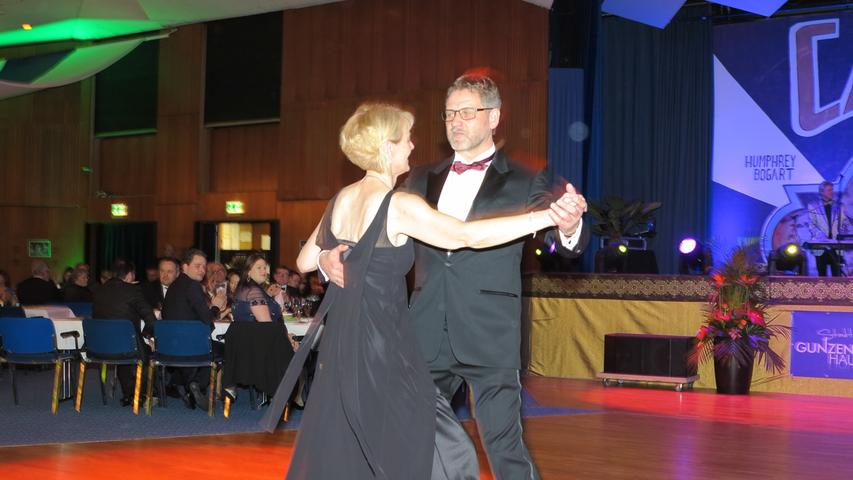 Bis 3 Uhr war die Tanzfläche gut gefüllt.