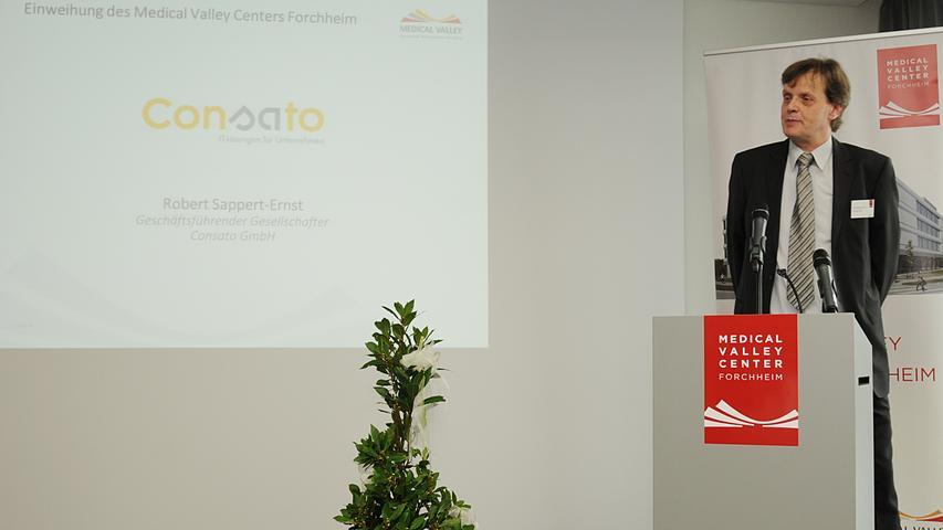 Um IT-Sicherheit geht es bei der Consato GmbH mit derzeit neun Mitarbeitern und 50 Kunden, erklärt Robert Sappert-Ernst, einer der Geschäftsführer.