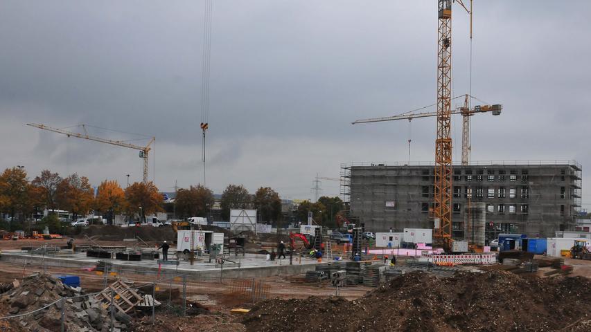 Der Baufortschritt im Oktober 2015.
