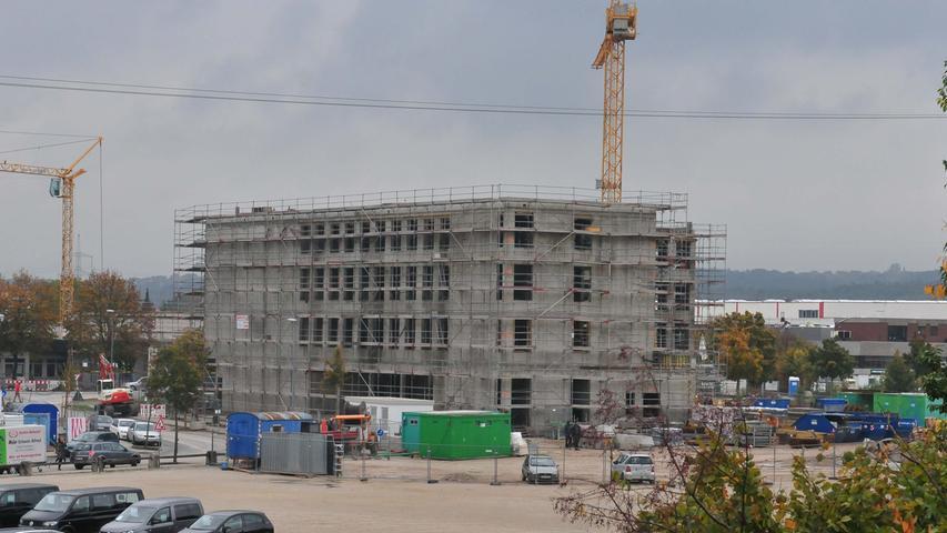 Der Baufortschritt im Oktober 2015