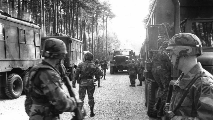 Panzer, Blitzkrieg und Goodbye: Als die US-Army in Erlangen war