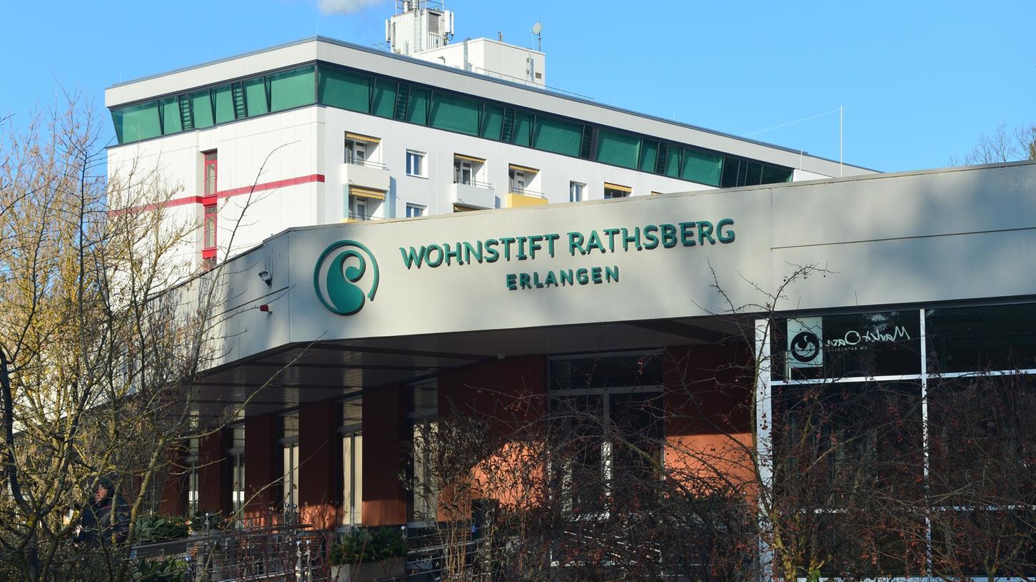 Das Wohnstift Rathsberg in Erlangen.
