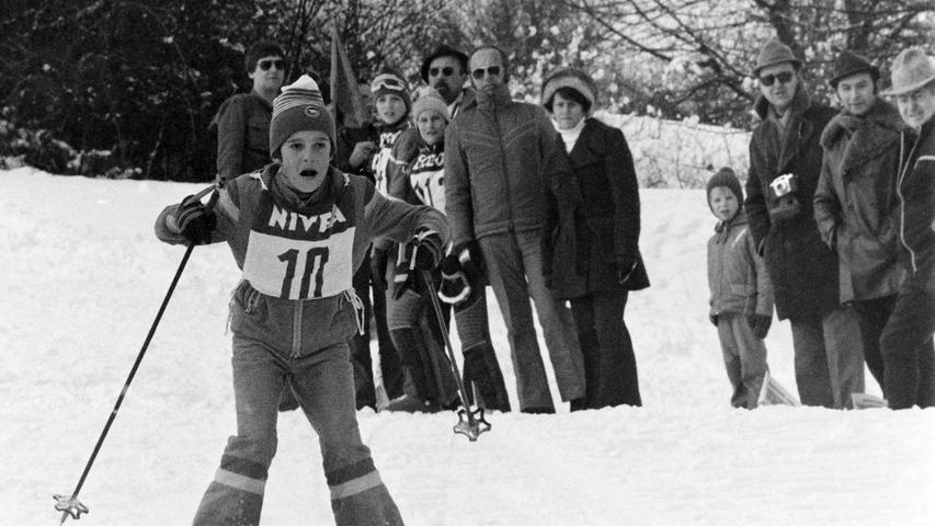 Vor 40 Jahren Skimeisterschaft am Buchauer Berg