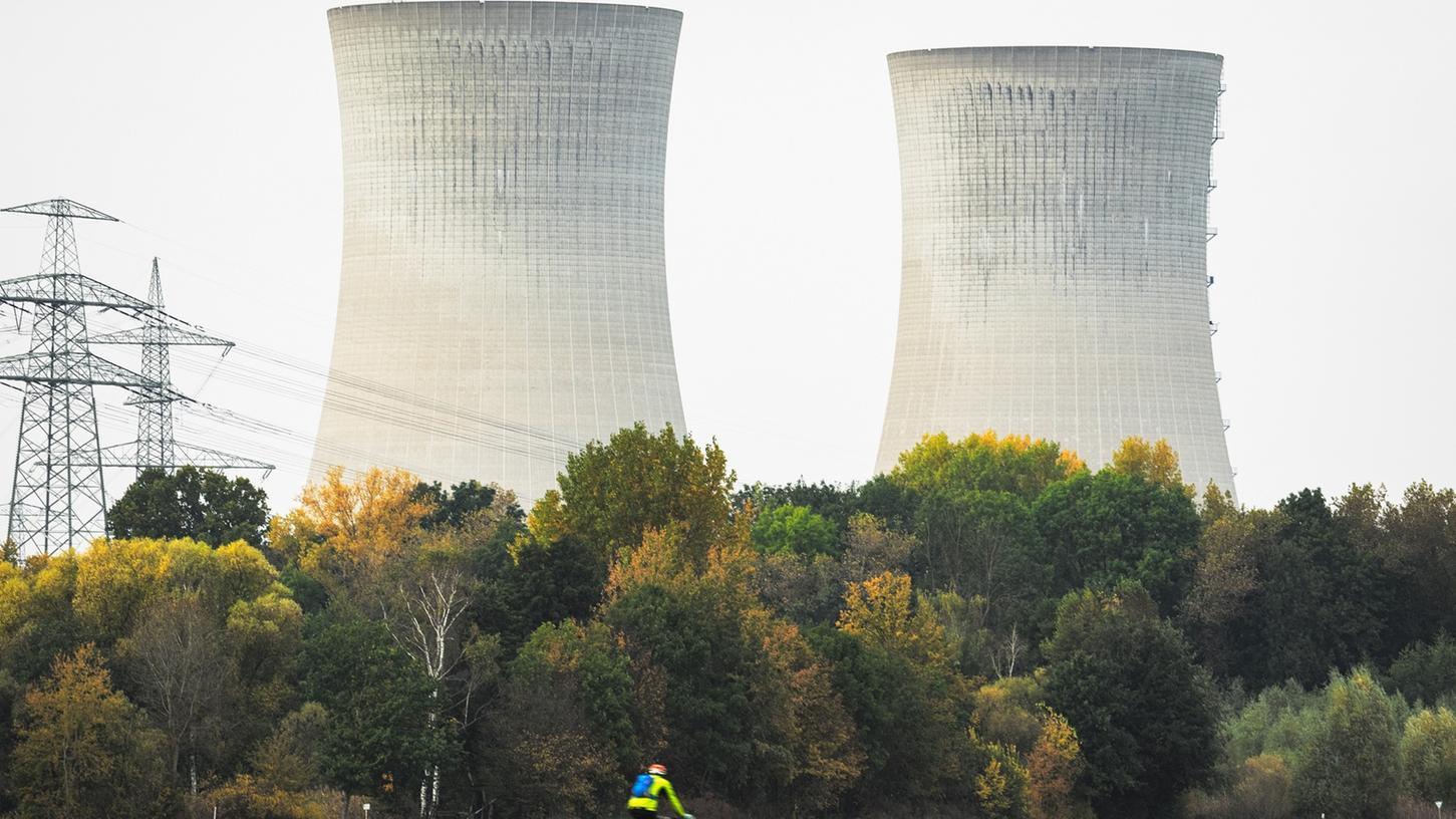 Das Atomkraftwerk in Grafenrheinfeld ist schon länger nicht mehr im Betrieb. Bis das Gebäude aber komplett verschwunden ist, wird es wohl noch Jahrzehnte dauern.