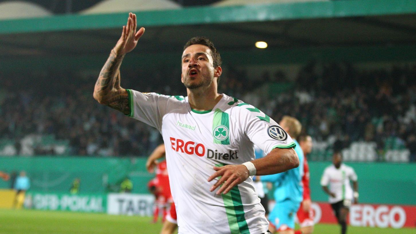Gegen Mainz 05 erzielte er den 1:1-Ausgleich: Sercan Sararer. Gegen Gladbach wird der 27-Jährige voraussichtlich fehlen.