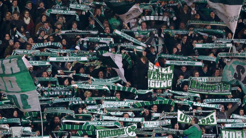 ... aus Kleeblatt-Sicht eigentlich schon gelaufen, auf welches sich die Fans der Weiß-Grünen...