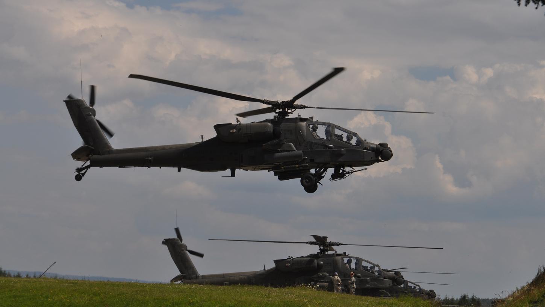 Durch die Belastung durch die in Illesheim stationierten Kampfhubschrauber der US-Armee, sieht die Bürgerinitiative