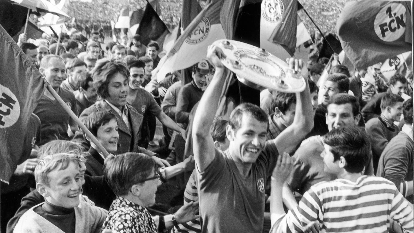 Der erst vor kurzer Zeit verstorbene Schorsch Volkert war einer der Akteure, die dem Club seinen vorerst letzte Meistertitel im elitären Fußballwettstreit sicherten.
