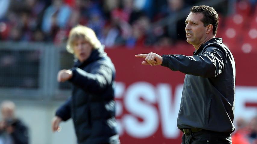 Gegen von Ex-Trainer Gertjan Verbeek trainierte Bochumer wollte der Schwartz-Club anschießend in Erfolgsspur zurück und dabei zugleich seine in dieser Saison eklatante Heimschwäche beheben. In einer niveauarmen Auseinandersetzung in Nürnberg behielt jedoch der VfL mit 1:0 die Oberhand.