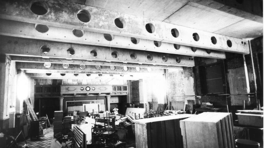 Mitte der 80er Jahre wurde der Maschinensaal zu einem