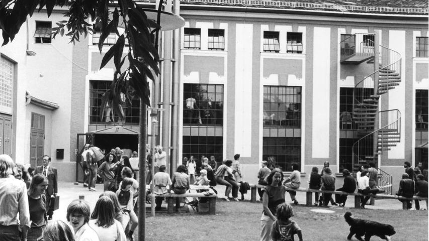 1982 fand kurz nach Abschluss der ersten Umbauphase ein Sommerfest statt.