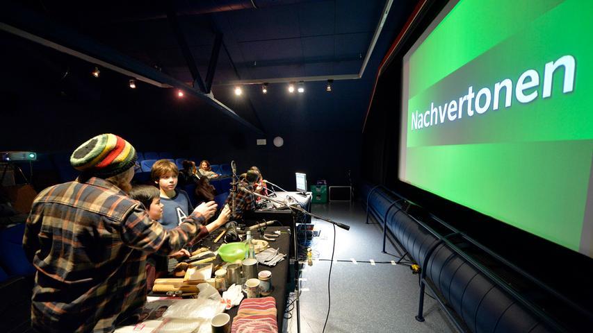 Seit vielen Jahren findet das Mittelfränkische Kinderfilmfestival im E-Werk statt.
