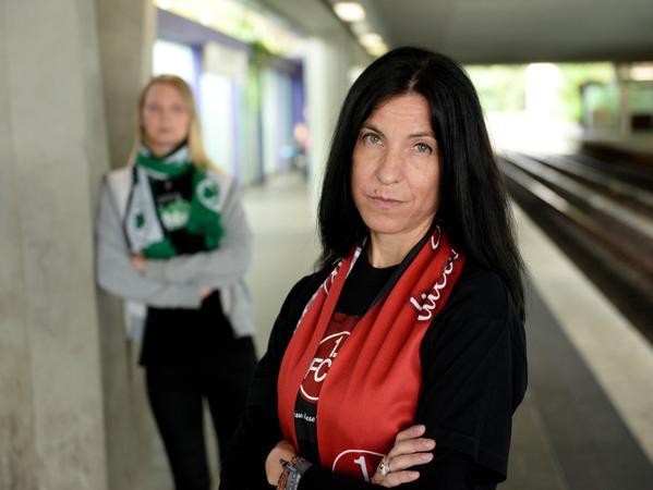 Herzrasen Claudia Wunder (vorne) und Ella Rothenhöfer